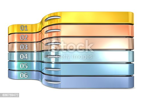 501147202 istock photo Infographic report template layout 636759472