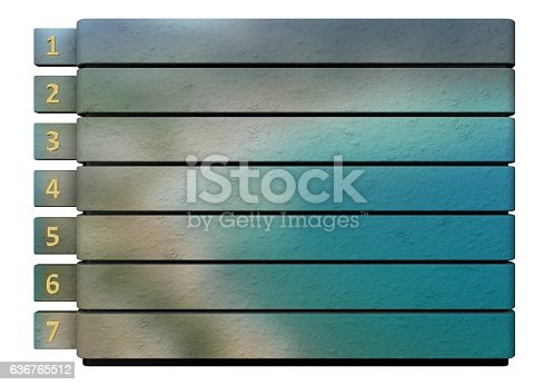 istock Infographic report template layout 636765512