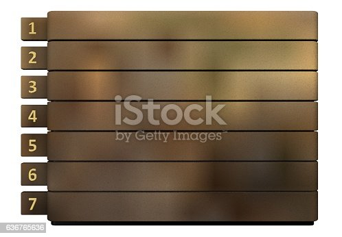 istock Infographic report template layout 636765636