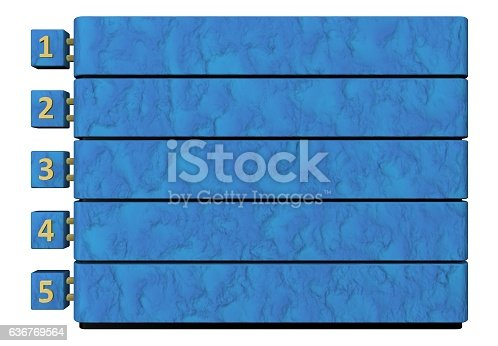 501147202 istock photo Infographic report template layout 636769564