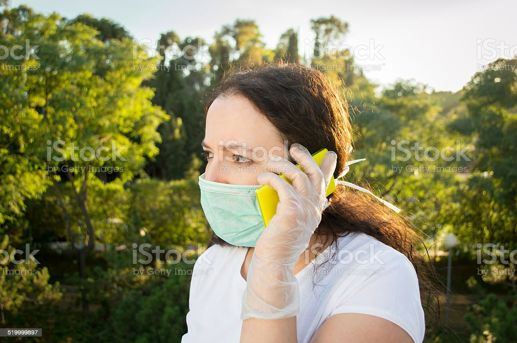 inform you about the virus stock photo