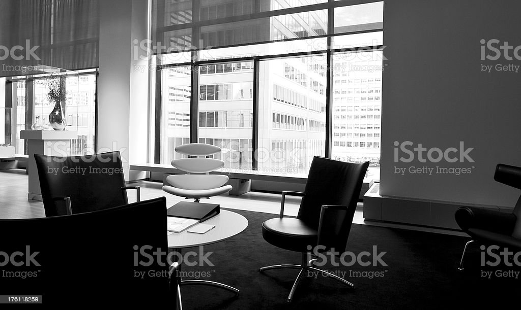 Informal Meeting Room royalty-free stock photo