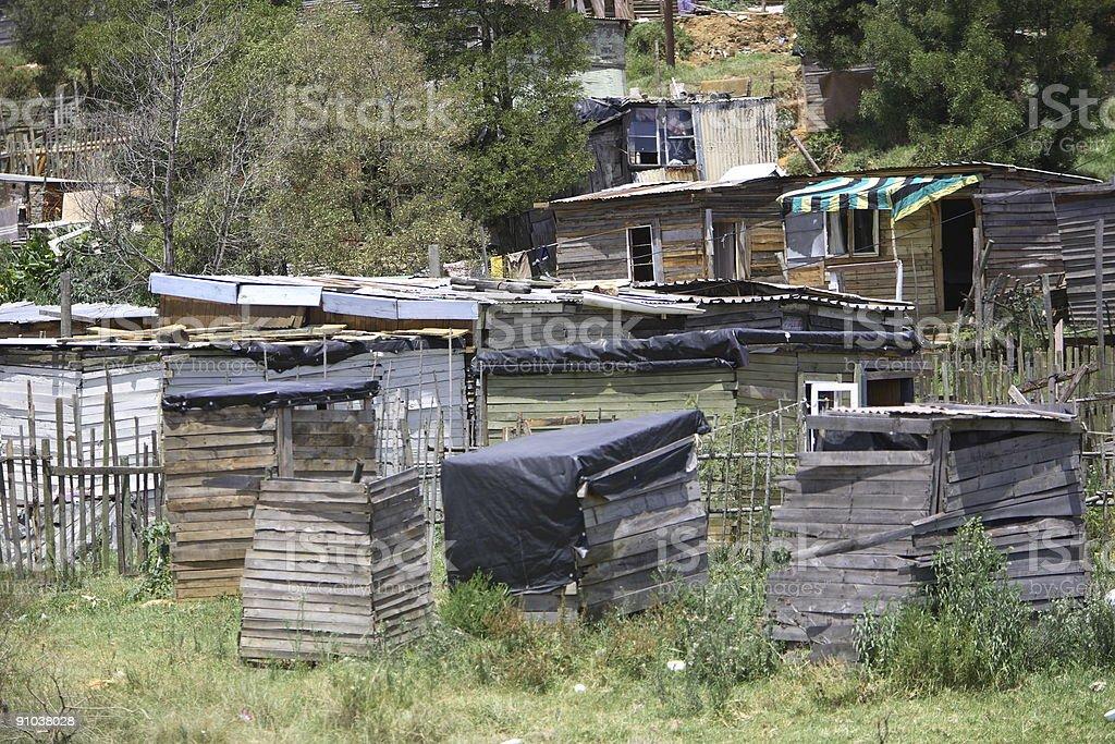 Informal Settlement stock photo