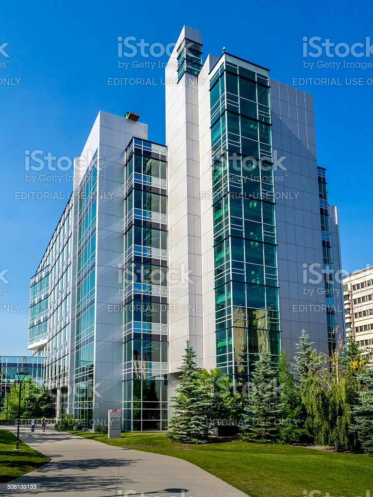 Information and Communication Technologies building stock photo