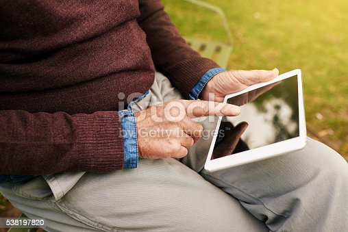 istock Information at your fingertips 538197820