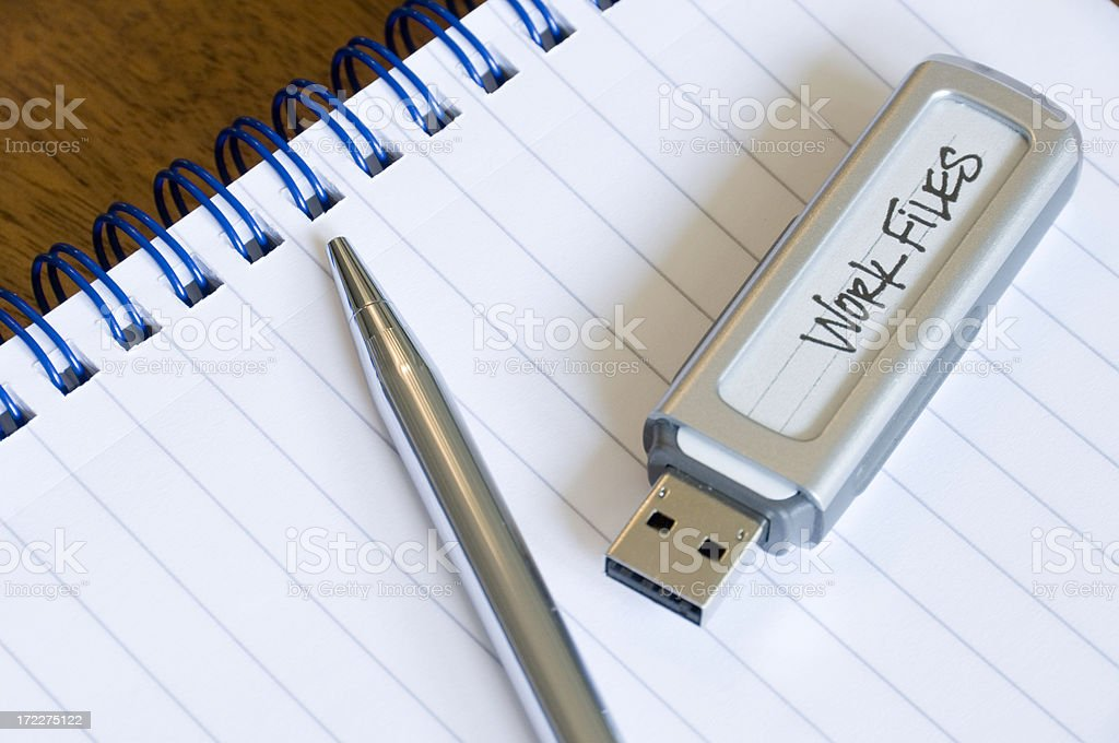 Information carriers royalty-free stock photo