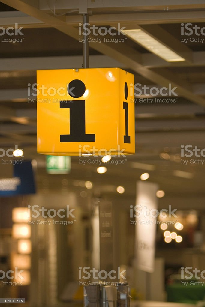 Information Counter royalty-free stock photo
