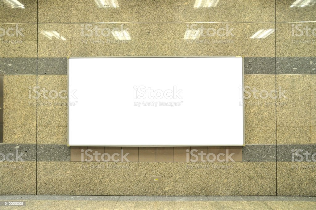 Information light board in public transportation station. stock photo