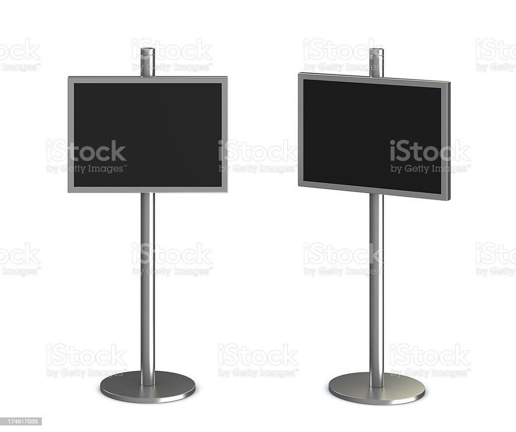 information monitor royalty-free stock photo