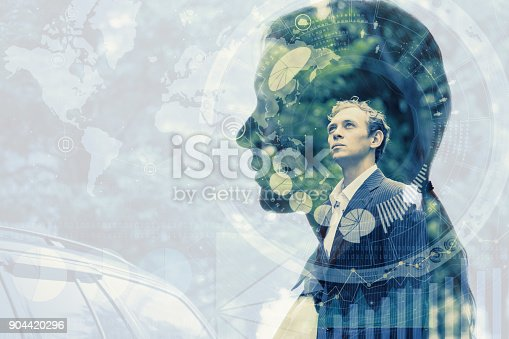 istock Information of business concept. 904420296