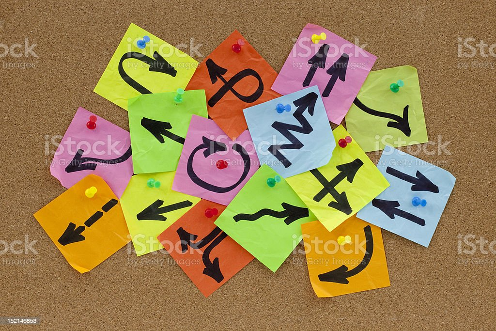 information overload concept stock photo
