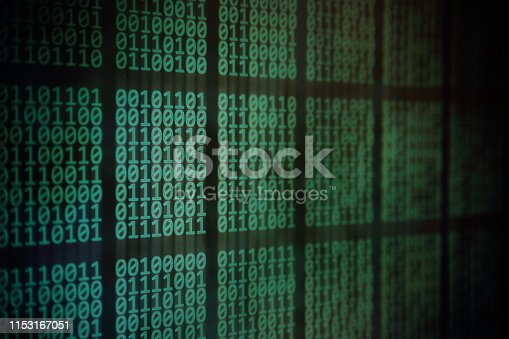 istock information science. Rise of the big data AI age. 1153167051