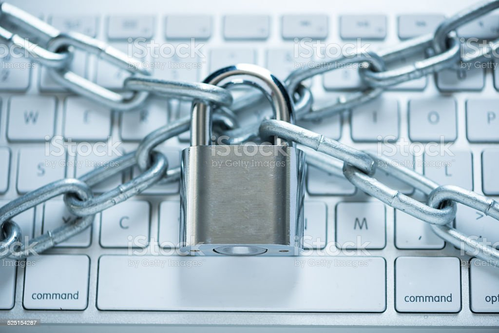 Information security concept stock photo
