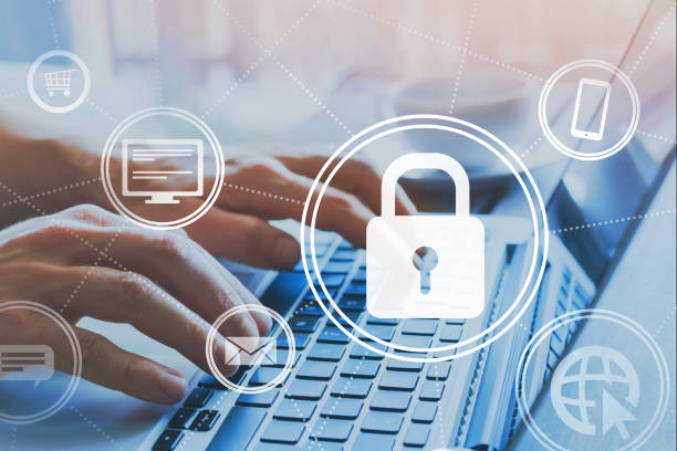information security online, cybersecurity stock photo