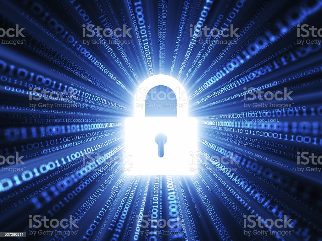 Information Security stock photo