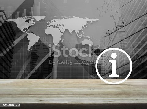 istock Information sign icon, Elements of this image furnished by NASA 680396170