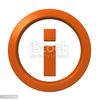 istock information sign info icon instructions symbol letter i orange logo button 3d render graphic image isolated on white background 1154032946