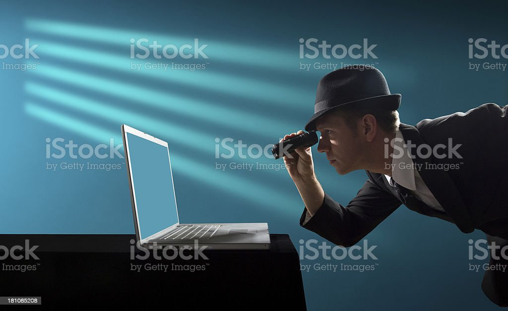 Information Spying stock photo