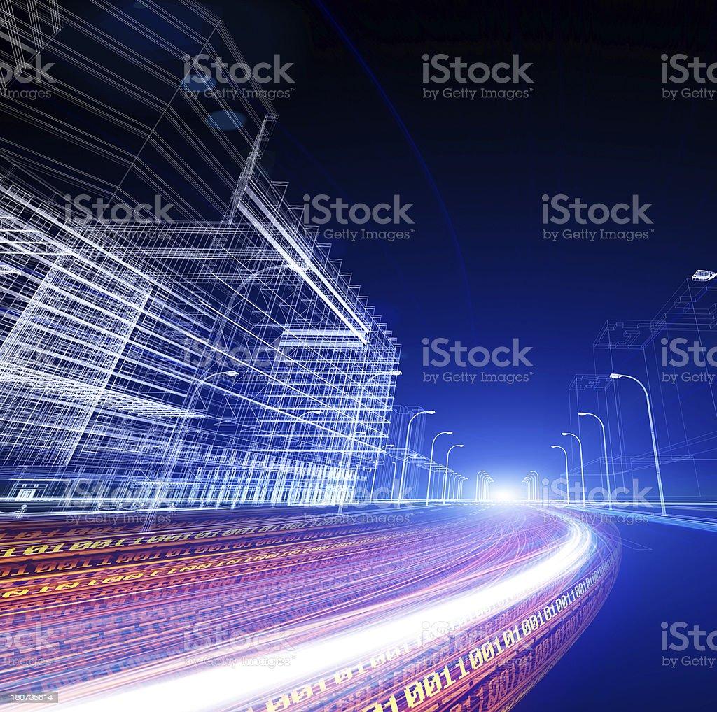 Datenautobahn – Foto