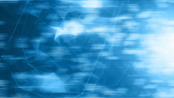 information technology concept background - vr red background imagens e fotografias de stock