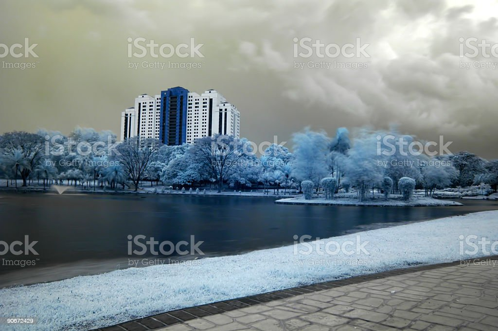 infrared 9 royalty-free stock photo