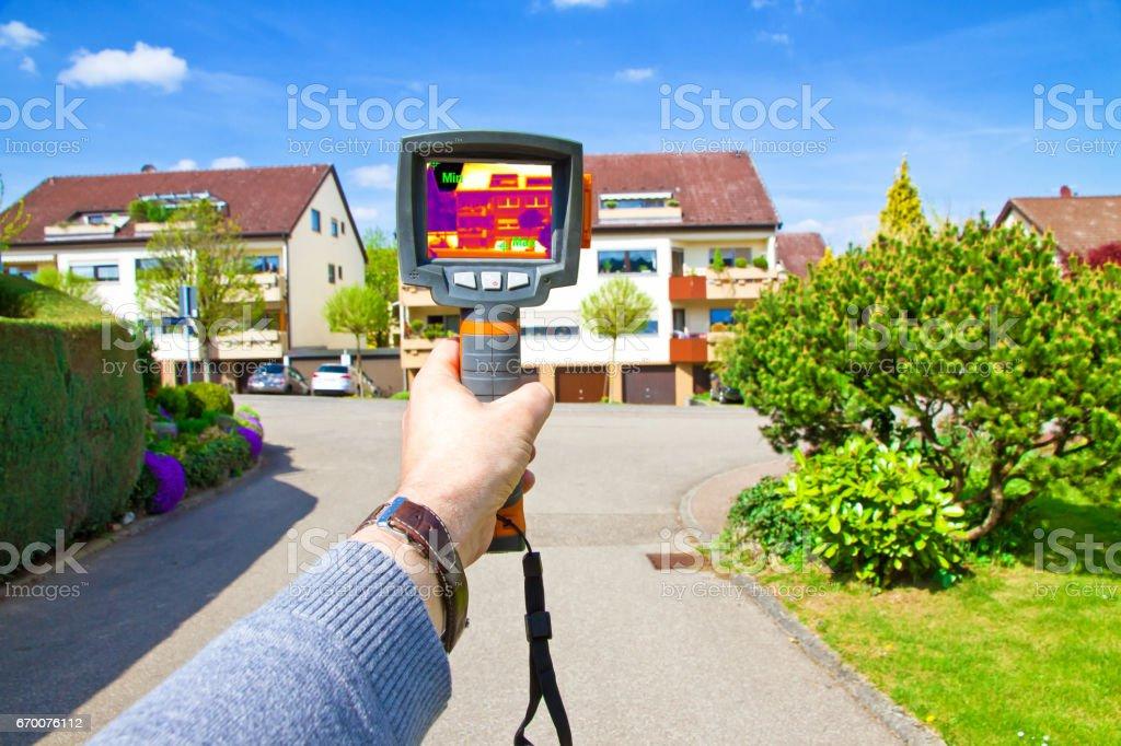 Infrared camera stock photo
