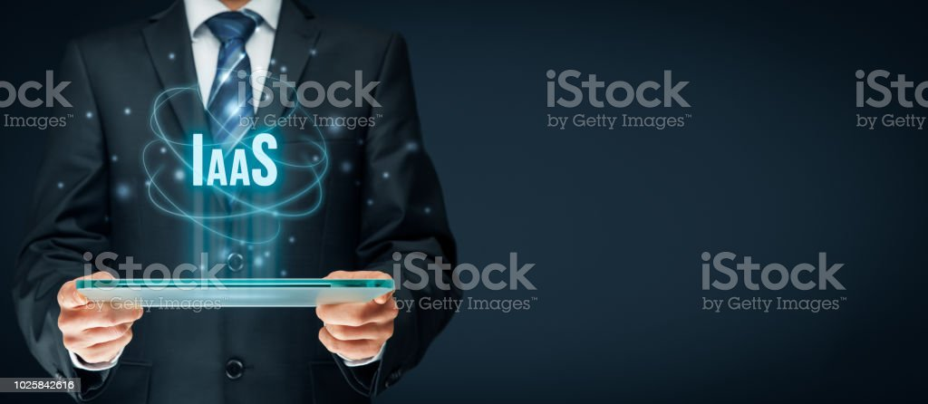 Infrastructure as a Service IaaS royalty-free stock photo
