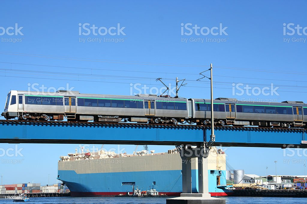 Infrastructure - Transport royalty-free stock photo