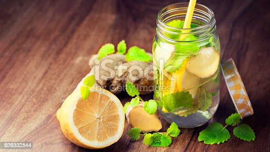 Infused Water For Detoxing Your Body Stock Photo & More Pictures of Body Conscious