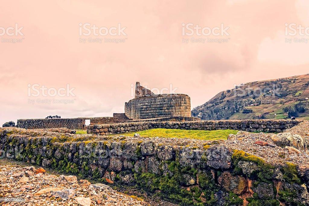 Ingapirca Ruins, Ecuador stock photo