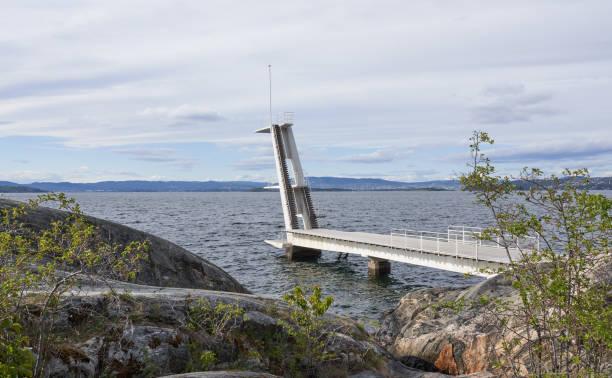Ingierstrand Bath Tauchplattform, Oslo Norwegen – Foto