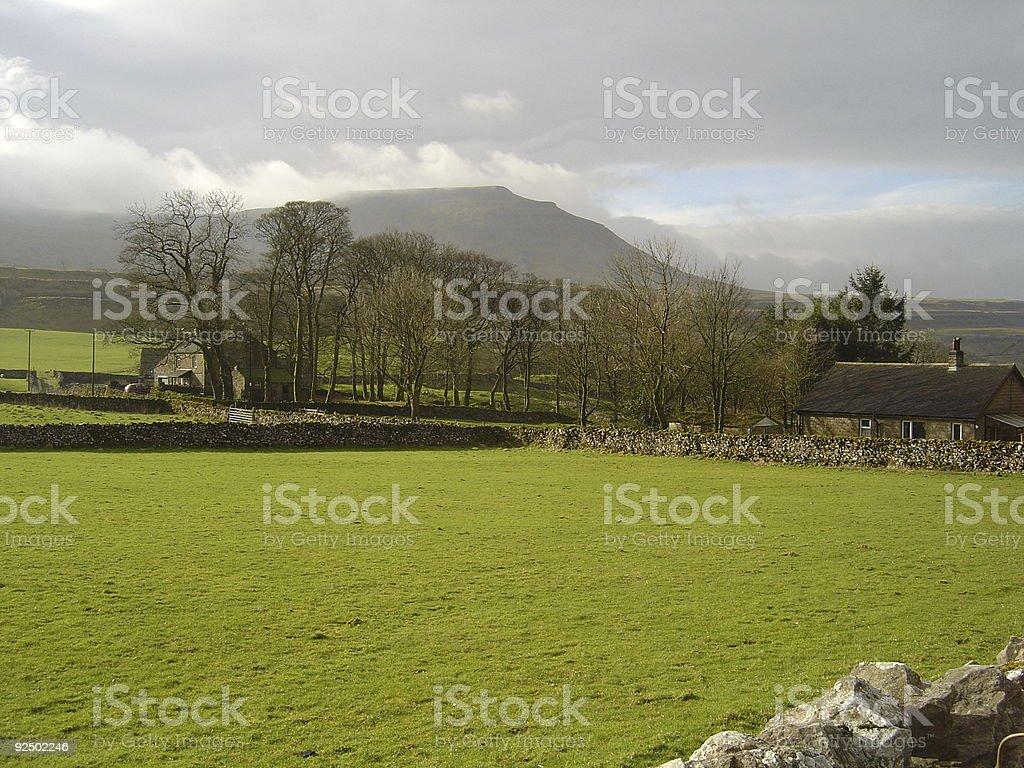 Ingleton View royalty-free stock photo