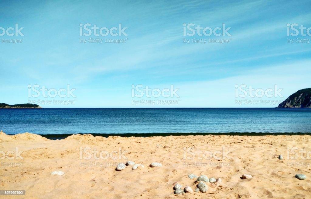 Ingonish Beach stock photo