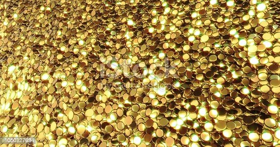 186835568istockphoto Ingots of pure gold. Golden background. Gold leaf texture. 1050127694