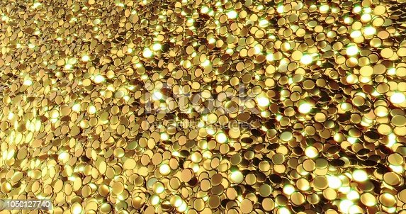 186835568istockphoto Ingots of pure gold. Golden background. Gold leaf texture. 1050127740