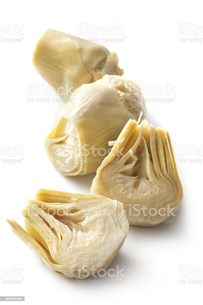 Ingredienti: Cuore di carciofo - foto stock