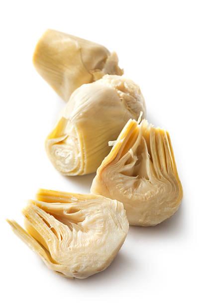 Ingredientes: Corazón de alcachofa - foto de stock