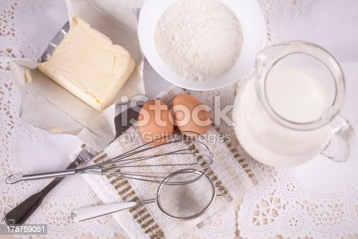 istock Ingredients for baking 178759051