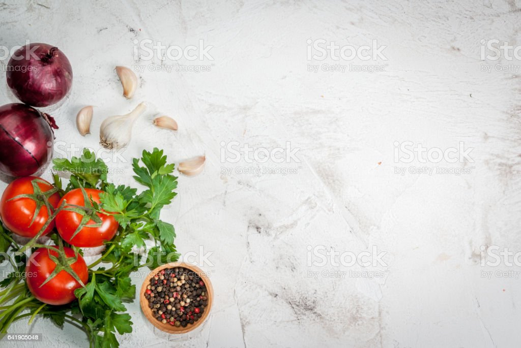 Ingredients for cooking stock photo