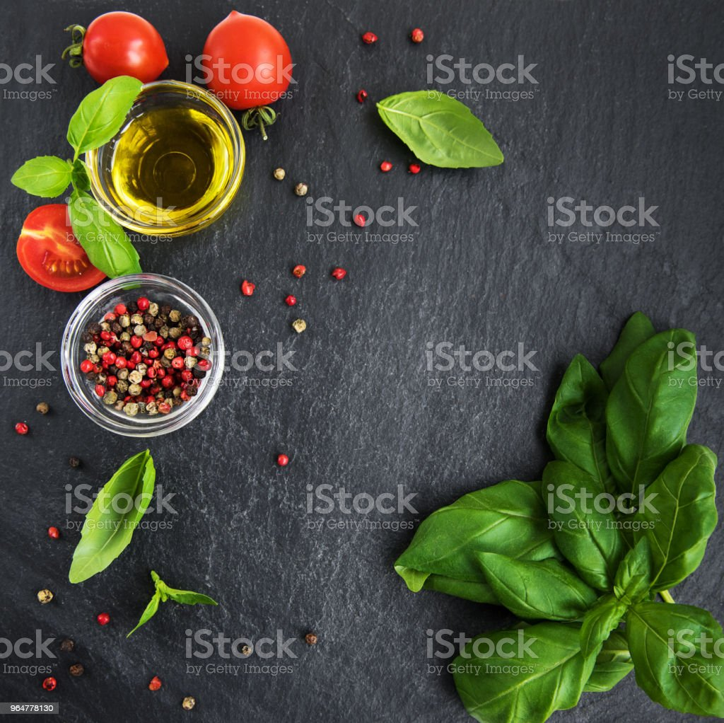 Ingredients for cooking royalty-free stock photo