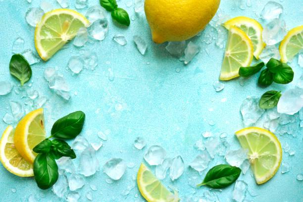 Zutaten für die Herstellung hausgemachter Sommerlemonade – Foto