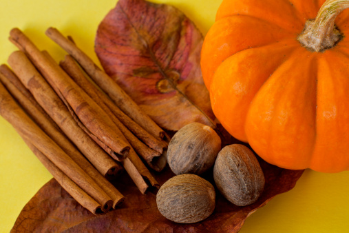 Ingredients For Making Pumpkin Spice Stock Photo - Download Image Now