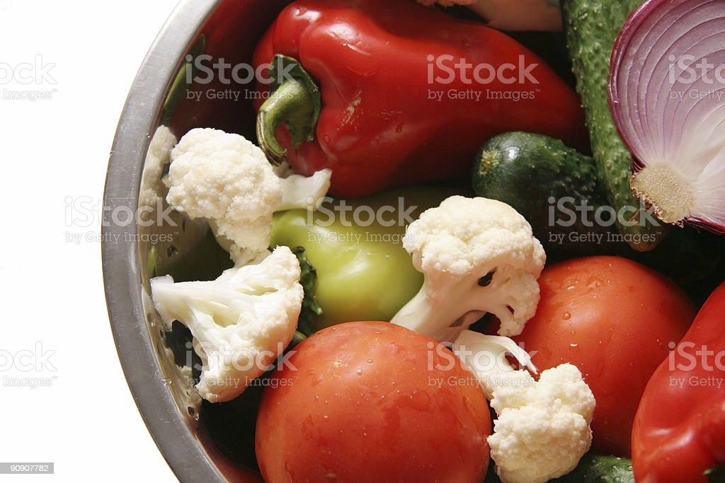 Ingredients for salad. royalty-free stock photo