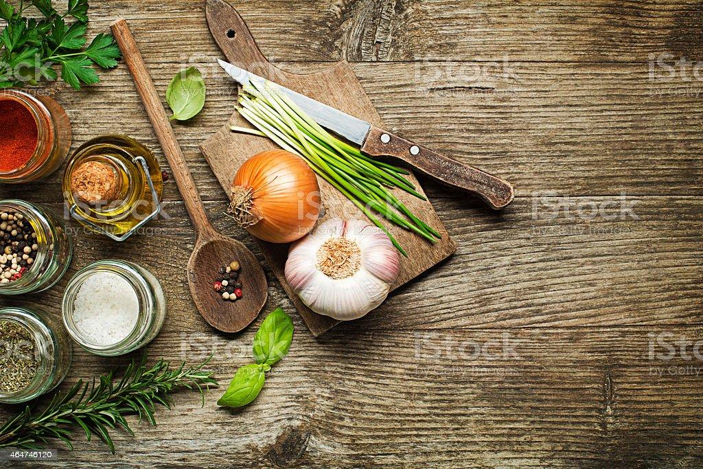 Ingredients stock photo