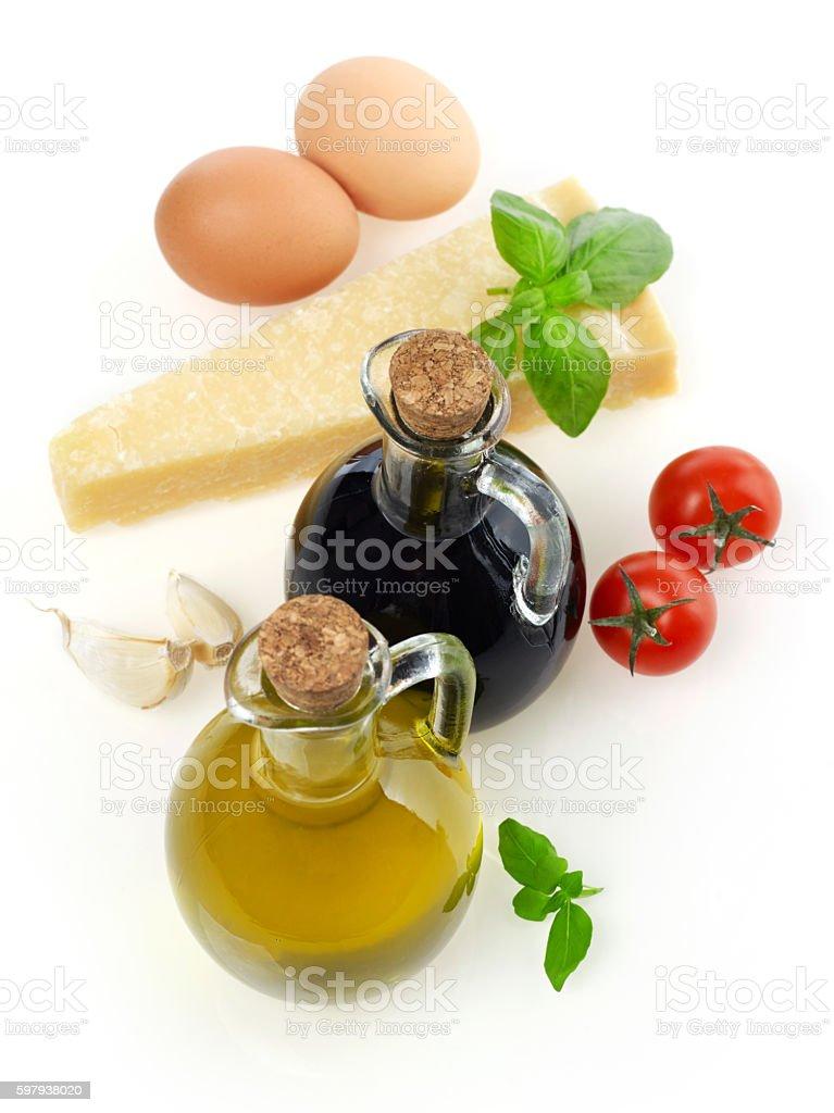 Ingredientes  foto royalty-free