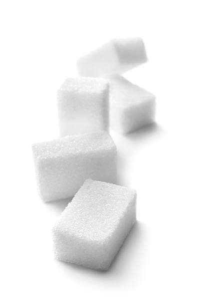 zutaten: zucker würfel - würfelzucker stock-fotos und bilder