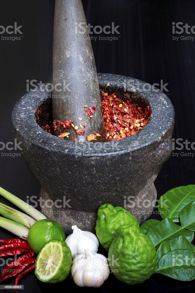 Ingredients Thailand food royalty-free stock photo