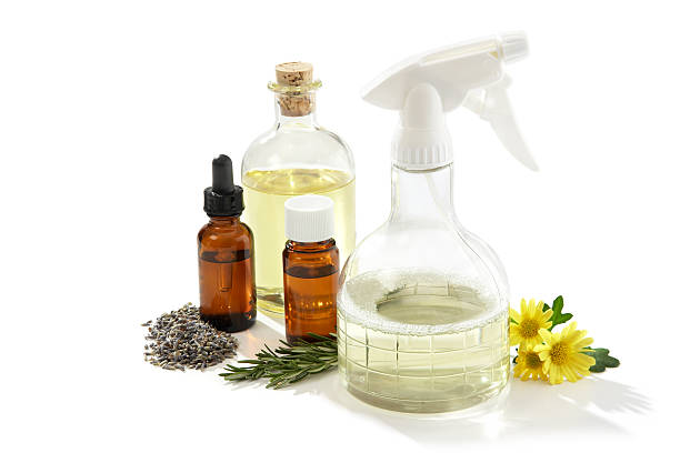 ingredients to make eco-friendly cleaners - disinfectant stock pictures, royalty-free photos & images