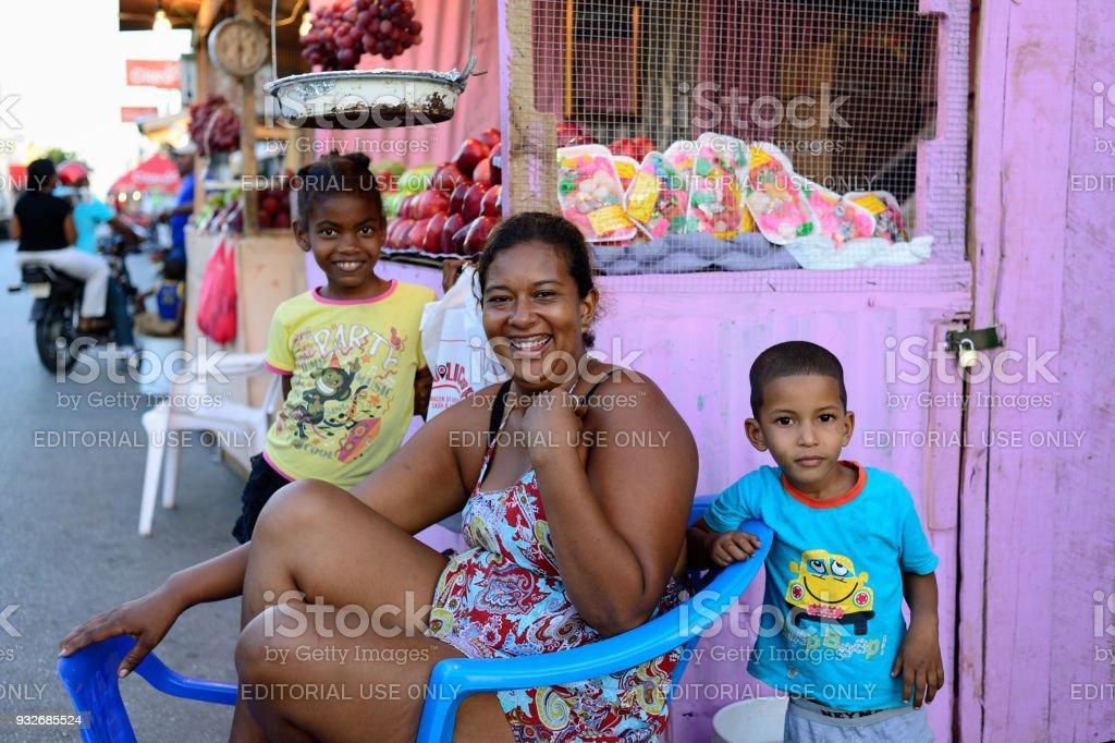 Habitantes de República Dominicana - foto de stock
