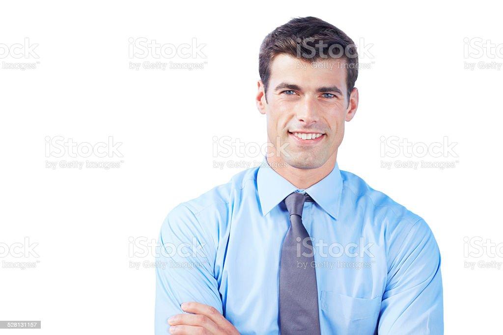 Inhale confidence, exhale doubt stock photo